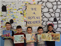 Reinhard Students are Royal Readers photo
